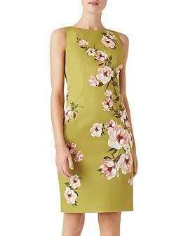 HOBBS LONDON - Moira Floral Print Shift Dress