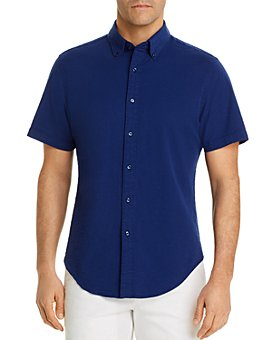 The Men's Store at Bloomingdale's - Seersucker Solid Classic Fit Shirt - 100% Exclusive