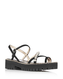 Jimmy Choo - Women's Desi Flat KVO Sandals