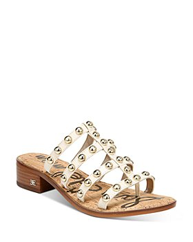 Sam Edelman - Women's Juniper Strappy Slip On Thong Sandals