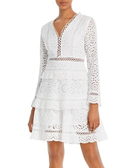 O.P.T - Faith Eyelet Dress