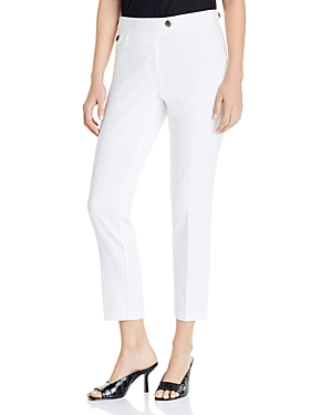 Karl Lagerfeld Paris Double-Weave Ankle Pants-Women