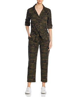 Sanctuary - Camo-Printed Jumpsuit - 100% Exclusive