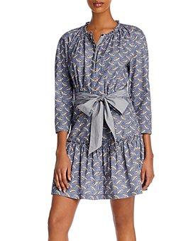 Rebecca Taylor - Woodblock Printed Dress