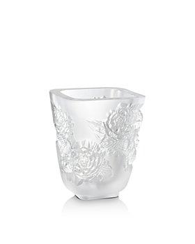 Lalique - Pivoines Small Vase