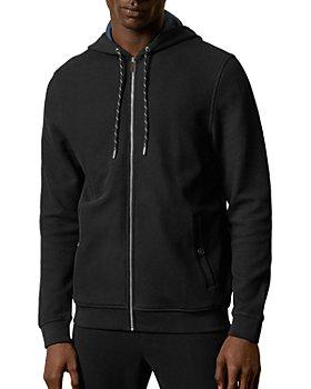 Ted Baker - Textured Zip Hooded Sweatshirt