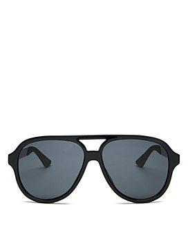 Gucci - Men's Brow Bar Square Sunglasses, 59mm
