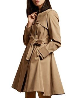 Ted Baker - Pandura Pleated Mac Coat