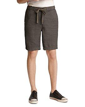 John Varvatos Star USA - Benson Regular Fit Drawstring Shorts