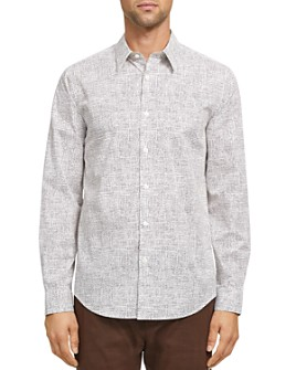 Theory - Thordon Print Slim Fit Shirt - 100% Exclusive