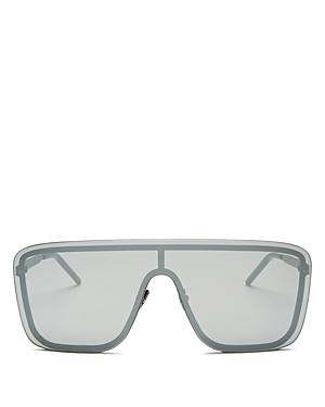 Saint Laurent Women's Shield Sunglasses, 99mm