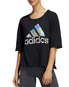 Adidas - Metallic Graphic Tee