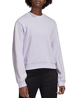 Adidas - Pleated-Back Sweatshirt