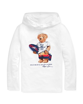 Ralph Lauren - Boys' Surfing Bear Hooded Top - Big Kid