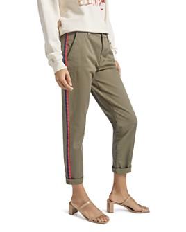 Current/Elliott - The Side Stripe Confident Ankle Pants