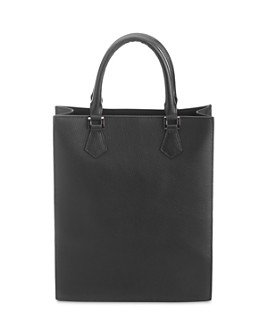 ROYCE New York - Structured Leather Executive Tote Bag