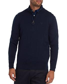 Barbour - Tartan Quarter-Zip Sweater