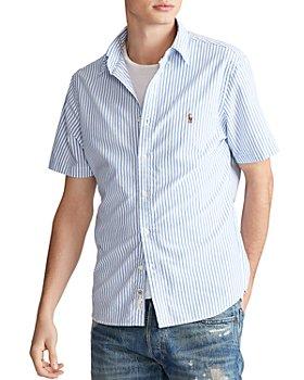 Polo Ralph Lauren - Classic Fit Button-Down Short-Sleeve Oxford Shirt