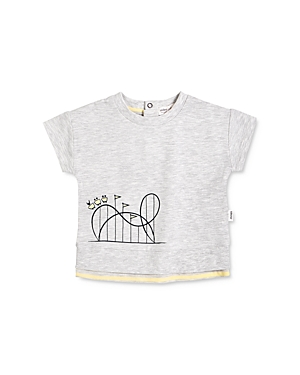 Miles Baby Boys' Cotton-Blend Graphic T-Shirt - Baby