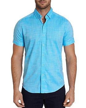 Robert Graham - Jackson Short-Sleeve Shirt, Bloomingdale's Slim Fit