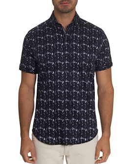 Robert Graham - Tucker Short-Sleeve Shirt, Bloomingdale's Slim Fit
