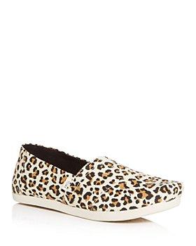 TOMS - Women's Classic Leopard-Print Flats
