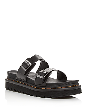 Dr. Martens Women\\\'s Myles Platform Slide Sandals