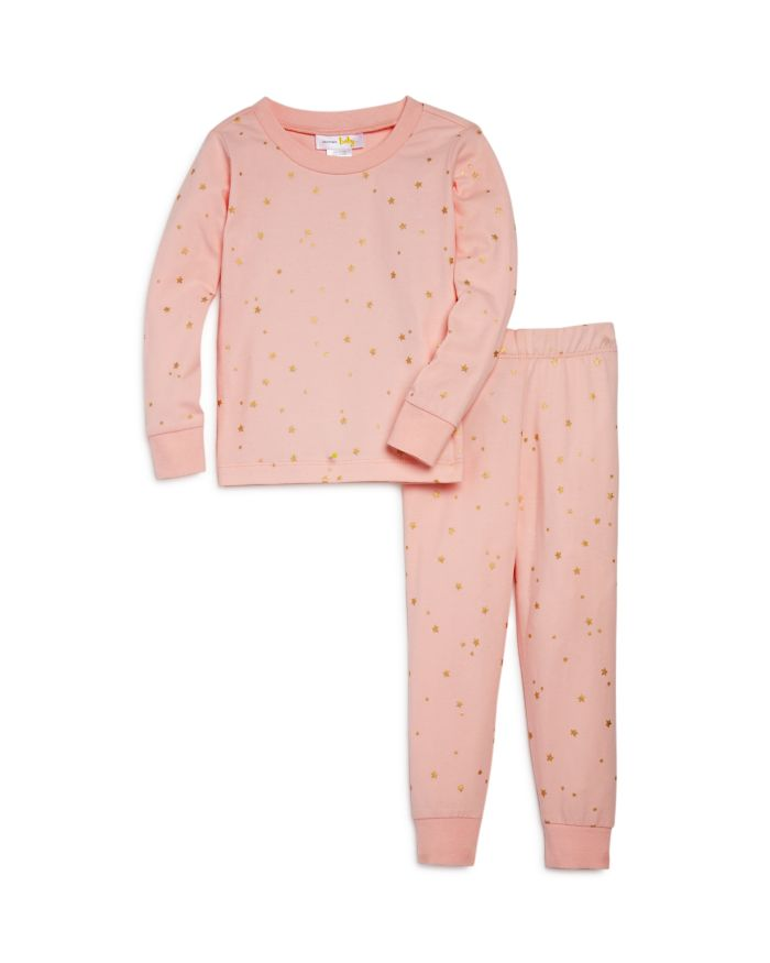 Bloomie's Girls' Stars Pajama Set, Baby - 100% Exclusive    Bloomingdale's