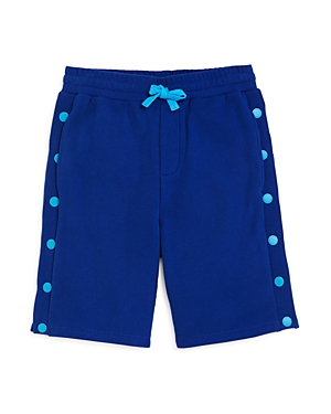 Stella McCartney Boys\\\' Cotton Side-Snap Sweatshorts - Little Kid (Clearance)