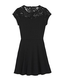 Sally Miller - Girls' Jackie Lace-Top Fit-and-Flare Dress - Big Kid