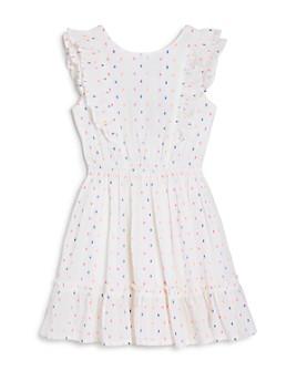 BCBGirls - Girls' Ruffled Jacquard Dress - Big Kid