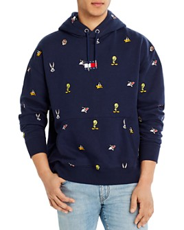 Tommy Jeans - Cotton Embroidered Graphic Hoodie