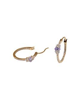 Nadri - Cubic Zirconia Hoop Earrings