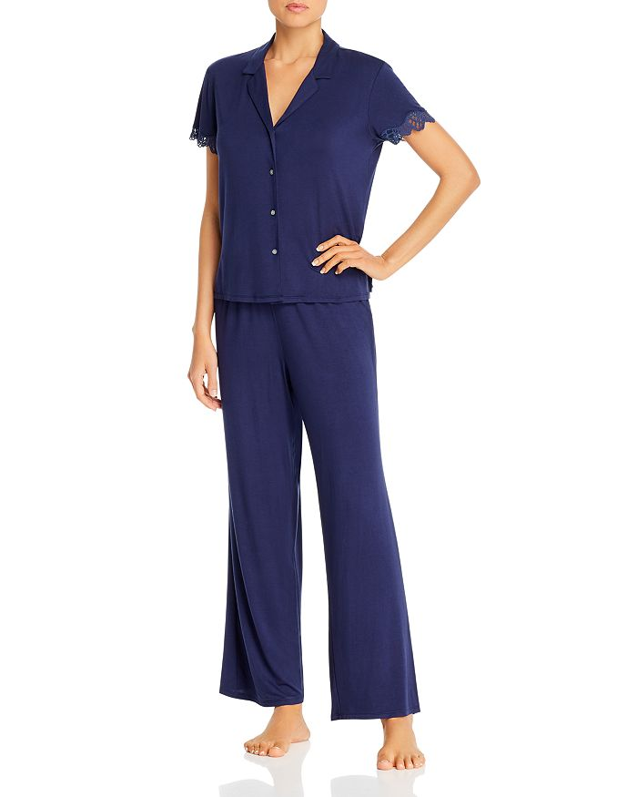 Josie SOLID BARDOT ESSENTIALS PAJAMA SET