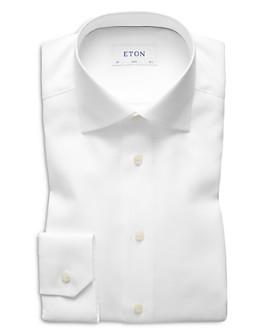 Eton - Herringbone Slim Fit Dress Shirt