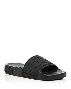 Dolce & Gabbana - Women's Logo Pool Slide Sandals