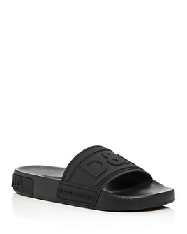 Dolce & Gabbana - Women's Logo Pool Slide Sandals