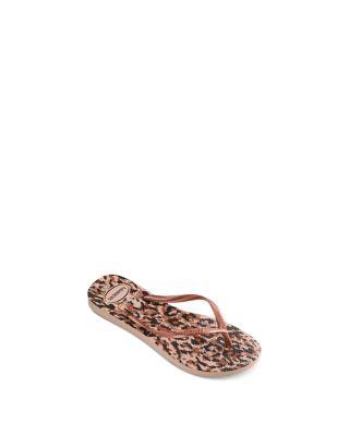 Unisex V Flip Flops Roses And Flying Butterflies Personalized Summer Slipper
