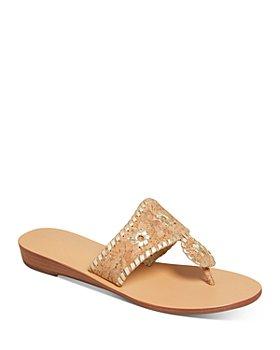 Jack Rogers - Women's Jacks Cork Demi-Wedge Sandals