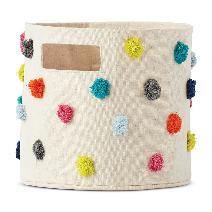 Pehr - Pom Pom Cotton Canvas Storage Pint
