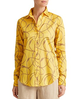 Ralph Lauren - Printed Button-Up Shirt