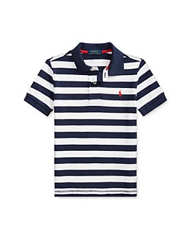Ralph Lauren -  Boys' Cotton Striped Polo Shirt - Little Kid