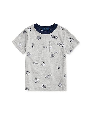 Ralph Lauren - Boys' Collegiate Print Tee - Little Kid