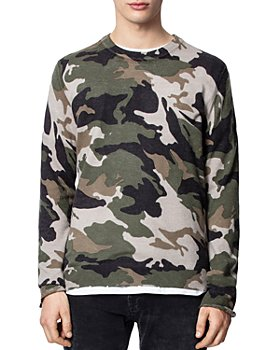 Zadig & Voltaire - Kennedy Camo Sweater