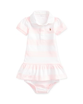 Ralph Lauren - Girls' Rugby Striped Dress & Bloomers Set - Baby