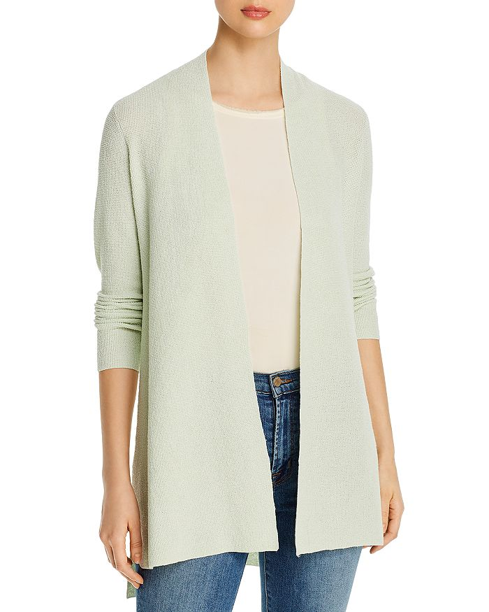 Eileen Fisher Petites - Petites Open-Front Long Cardigan