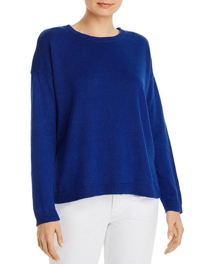 Eileen Fisher - Crewneck Boxy Sweater