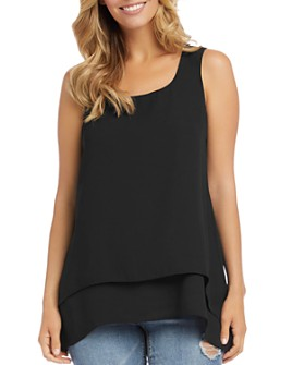 Karen Kane - Double-Layer Tank Top