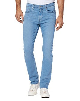 PAIGE - Federal Straight Slim Jeans in Rosman