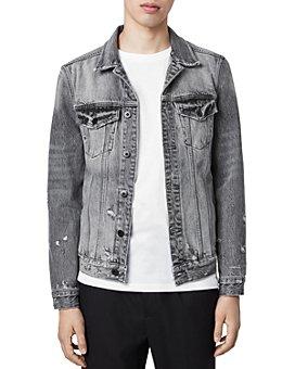 ALLSAINTS - Bilton Distressed Denim Jacket